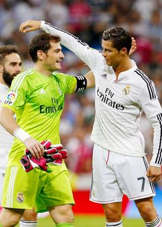 ..._Iker Casillas & Cristiano Ronaldo - Real Madrid FC