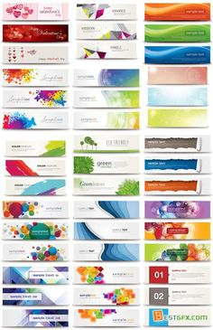 17 Vector Web Banners Bundle -Watch Free Latest Movies Online on Web Design, Web Banner Design, Book Design, Web Banners, Graphic Design, Roll Up Design, Cover Design, Modele Flyer, Pvc Banner