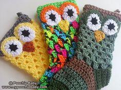 Easy digital pattern for a crochet owl stocking. Crochet Boots, Crochet Slippers, Love Crochet, Crochet Baby, Love Knitting, Knitting Patterns, Crochet Patterns, Crochet Crafts, Yarn Crafts
