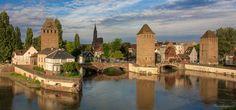 https://flic.kr/p/tkCB6v   Medieval Bridge, Ponts Couverts and Cathedral - Strasbourg, France, view from Barrage Vauban   Medieval Bridge, Ponts Couverts and Cathedral - Strasbourg, France, view from Barrage Vauban  - Les Ponts Couverts de Strasbourg depuis la terrasse du Barrage Vauban