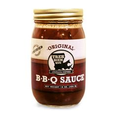 Tres Bien Que BBQ Sauce is handmade using a family recipe. It's an inspiring combination of Louisiana ingredients that will be sure to bring the taste of the Bayou State to any meal. This unique sauce starts with a sweet tea base. Each batch is slowly simmered and bottled in Baton Rouge. Use it as a braising liquid for slow cooking pork shoulder or brisket.