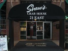 """""""Shaw's Crab House"""", Chicago. Great seafood & steaks."""