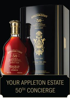 Appleton Estate 50 Year Old Celebrating 50  years of Jamaica Independence