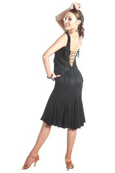"""""""Shall We Dance"""" Latin Dance Dress"""