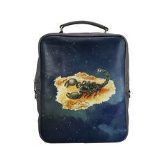 Scorpion Square Backpack. FREE Shipping. FREE Returns. #lbackpacks #scorpio