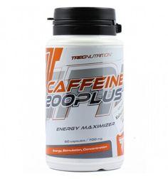 Caffeine 200 Plus de Trec Nutrition es un complemento alimenticio que te estimulará y te dará energía. Envío Gratis 24H.