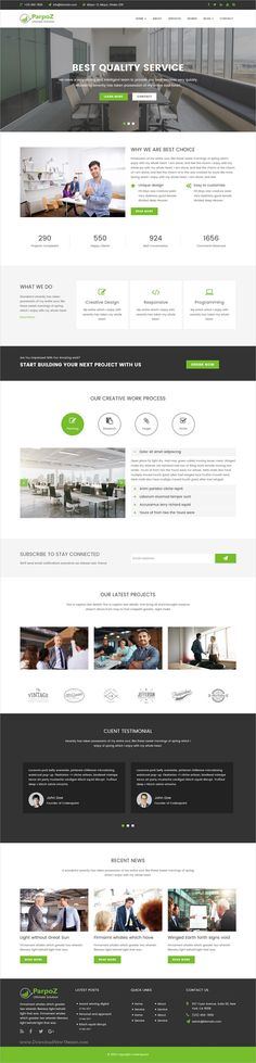 Parpoz is a unique, clean and modern design 2in1 responsive HTML5 #bootstrap template multipurpose #business website download now➩ https://themeforest.net/item/parpoz-multipurpos-html5-template/19531896?ref=Datasata