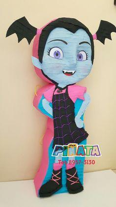 Piñata Vampirina Birthday Pinata, 7th Birthday, Birthday Parties, Birthday Decorations, Halloween Party, Minnie Mouse, Workshop, Disney Characters, Crafts