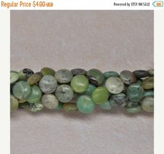 SUMMER SALE 25% OFF 10x10x5 mm natural african jade by soyon