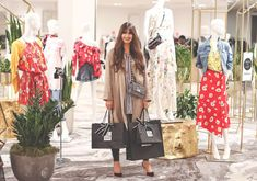 Fashionista and lifestyle guru Justine Celina Maguire walks you through the plush services you can enjoy at SAKS Fifth Avenue in Calgary Avenue Shops, Girl Day, Saks Fifth Avenue, Calgary, Centre, Beauty Hacks, Lifestyle, How To Wear, Shopping
