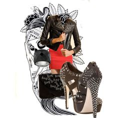 Just RoCK'nRoLL, created by stylismatic on Polyvore