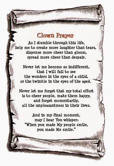 Optimistic X: The Clown's Prayer