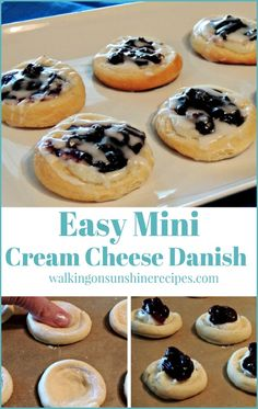 Easy Cream Cheese Danish Recipe with Canned Crescent Rolls 2019 Easy Mini Cream Cheese Danish made using crescent rolls from Walking on Sunshine Recipes. The post Easy Cream Cheese Danish Recipe with Canned Crescent Rolls 2019 appeared first on Rolls Diy. Recipes Using Crescent Rolls, Crescent Roll Recipes, Pastry Recipes, Dessert Recipes, Danish Recipes, Baking Desserts, Kraft Recipes, Muffin Recipes, Easy Desserts