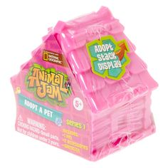 <P>In association with National Geographic. Thse Animal Jam pets really need a home! Take home the whole collection today! Each little house shaped box contains one of many Animal Jam pet figurines! </P><P><STRONG>Blind Box</STRONG> by <STRONG>Animal Jam</STRONG></P><UL><LI>Adopt and stack!</LI><LI>Series 1</LI><LI>Includes 1 pet, 2 accessories and collectors checklist</LI><LI>Suitable for children aged 5+</LI></UL>