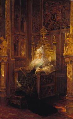 Jean-Joseph-Benjamin Constant (1845-1902) - Queen Victoria (1819-1901)