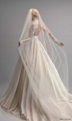 Luxury Wedding Dress, Gorgeous Wedding Dress, Designer Wedding Dresses, Wedding Attire, Bridal Dresses, Gown Wedding, Bridal Collection, Dress Collection, Ersa Atelier