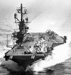 USS Intrepid Essex-class aircraft carrier US Navy Uss Antietam, Essex Class, Uss Intrepid, Naval History, Military History, Navy Aircraft Carrier, Leyte, Navy Life, Air And Space Museum