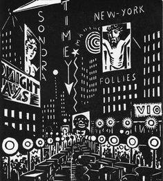 Frans Masereel, Bilder der Grossstadt (Images de la grande ville), 1926