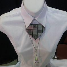 Neck ties for woman. #upcycle #luxyria #handmade  #ecodesign