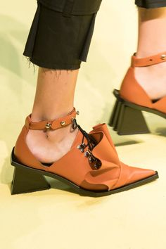 Marques Almeida at London Fashion Week Spring 2017. Chaussures Fille Chaussures De LuxeChaussures ... ed12856afda