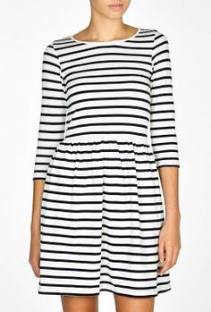 Striped Fulton Dress by Ganni
