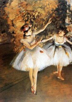 Deux danseuses, par Édgar Degas