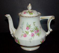 Theodore Haviland China tea pot   http://www.robbinsnest.com/theodore-haviland/sylvia.html