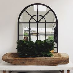 These antique-looking arched conservatory mirrors feature a black metal frame, look amazing wall mounted in pairs, or simply on a console with our dwarf fiddle leafs and Turkish bowls. Dimensions : H1500mm x W1070mm. 427, Darling Street, Balmain, 2041 Website: www.lumuinteriors.com Email: hello@lumuinteioriors.com. Phone: 0427 427 752 Interior Garden, Interior Design, Garden Mirrors, Arch Mirror, River Cottage, Black Mirror, Conservatory, Coastal Decor, Decorative Accessories