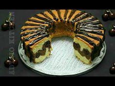 Chec Valurile Dunarii cu visine sau cirese, fantastic de bun iar reteta de chec este inspirata din cea de prajitura Valurile Dunarii cu visine Loaf Cake, Sweet Bread, Bagel, Muffin, Cookies, Breakfast, Desserts, Fruit Cakes, Sweets