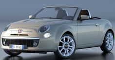 Fiat 500 Concept Car (Someone's on the right track! This is better looking than the 2017 Spyder and would kill on the sales floor..just saying!)