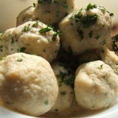 Zsemlegombóc V. Recept képpel -   Mindmegette.hu - Receptek Hungarian Recipes, Hungarian Food, Mashed Potatoes, Ethnic Recipes, Whipped Potatoes, Hungarian Cuisine, Smash Potatoes