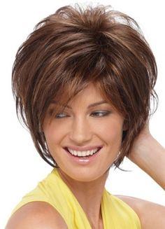 Pixie Fashion Short Cut Human Hair Capless Wig
