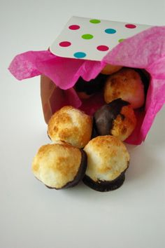 Rochers coco au chocolat _ IGbas