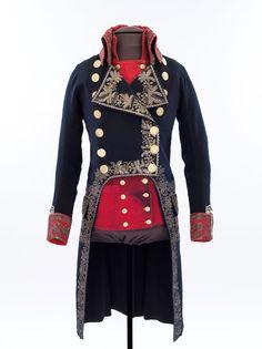 Habit de grand uniforme d'officier général, porté par le général de division Jacques-Zacharie Destaing
