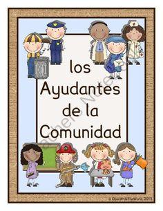 Spanish Community Helpers - Los Ayudantes de la Comunidad product from Open Wide…