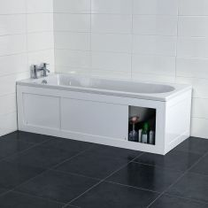 L Shape Shower Bath Suite With Luxury Screen And Acrylic Panel Perfect For Any Bathroom House Pinterest