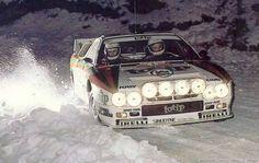 Frozen Jolly Club Lancia 037 Rally Snow