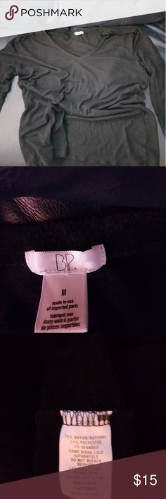 V neck sweater by BP Black, soft, machine washable, warm, good shape bp Sweaters V-Necks