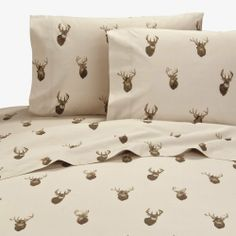 Browning Whitetails Sheet Set by Browning. $44.95. Well I sure hope no deer are listening in! But with all this talk about Browning Whitetails Bedding & Decor you never know. It'll be like deer running for cover with this rustic sheet set that is sure to be a conversation piece among the listening. A lot of talk will go on with Browning Buckmark being one of the most widely known names among outdoorsmen today. So bring this level of great outdoor enthusiasm with...