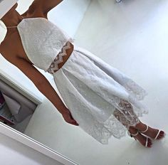 Loving this lace two piece by Natalie Rolt designs