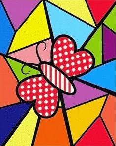 Arte Pop, Doodle Art, Atelier D Art, Valentines Art, Elements Of Art, Recycled Art, Nail Stickers, Dot Painting, Art Plastique