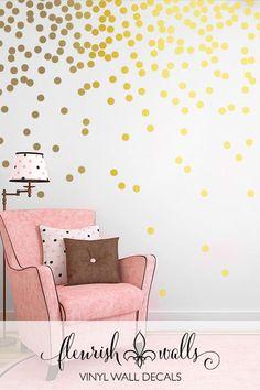 Gold Polka Dots - Vi