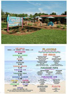 Our Place and menu http://www.paparobbs.com