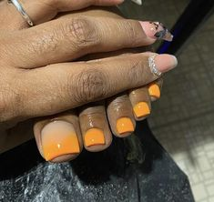 Acrylic Toe Nails, Drip Nails, Aycrlic Nails, Feet Nails, Gel Toe Nails, Pretty Toe Nails, Cute Toe Nails, Exotic Nails, Toe Nail Designs