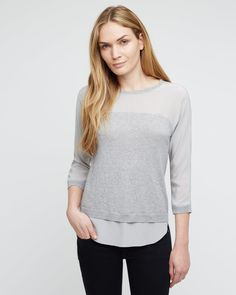 Shirt Tail Sweater -