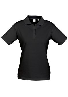 Code: BCP112LS Name: Ladies Ice Polo BCP112LS Size: 10 | 12 | 22 | 16 | 18 | 24 | 20 | 14 | 8 Available Colours: Black | White | Navy Description: 100% Premium