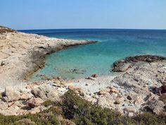 Santorineika Beach, Sikinos #mysteriousgreece