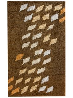 mid century rug