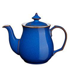 597a08fda7b6 Buy Denby Imperial Blue Teapot, 1L Online at johnlewis.com Glass Teapot,  Teapots