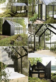 Garden Shed by Villa Hara & Linda Bergroth Casa Hygge, Dream Garden, Home And Garden, Glass House Garden, Greenhouse Shed, Greenhouse Plants, She Sheds, Potting Sheds, Building A Shed